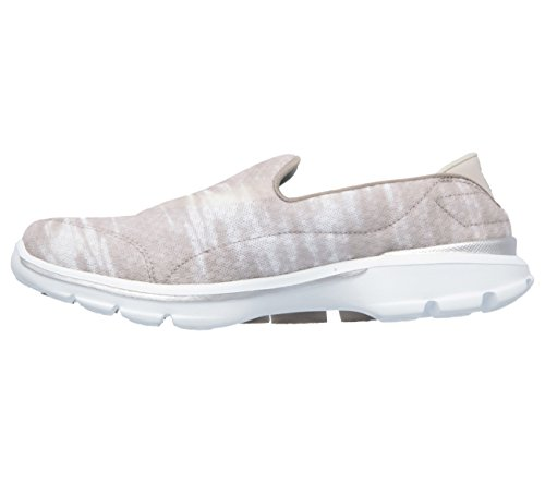 Skechers Womens Gowalk 3 Swell Slip On Taupe