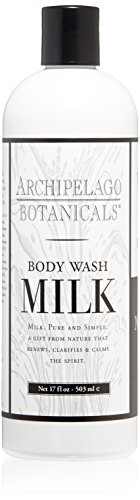 - Archipelago Milk Body Wash,17 Fl Oz