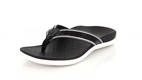 Sandal with Women's Black Tide Sport Vionic Orthaheel q64gZwwF