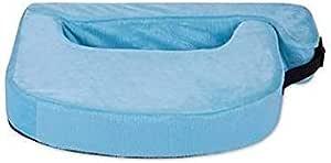 Penguin Sponge Feeding Pillow, 44 x 64 cm - Baby Blue