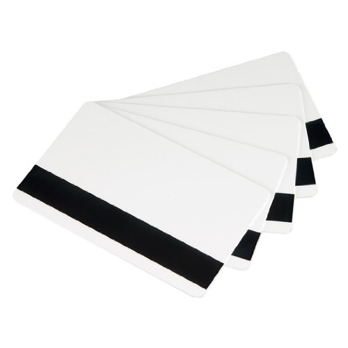 Pvc Mil Cards 30 - CR80 30 Mil High Coercivity Mag Stripe PVC Cards - 500 Per Pack - CR8030HI