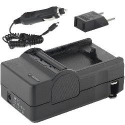 110//220v with Car /& EU adapters Sony DCR-SX45 Camcorder Battery Charger - Replacement Charger for Sony NP-FP FH FV Series Batteries