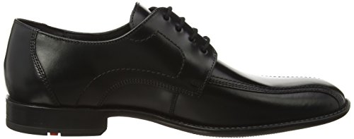 00 Calfskin Lloyd up 051 14 Alina Schwarz Gamon Shoes Black Black Rubbersole Men`s Lace Eggq1Tz