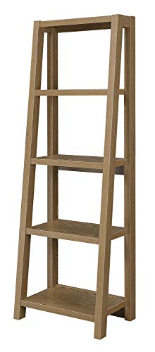 - Convenience Concepts 131596DFTW Newport Lilly Bookcase, Driftwood
