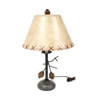 Pacific Coast Lighting Pine Cone Glow Table Lamp