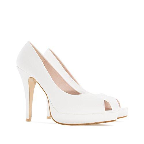 novia Machado petites Femmes Blanc De 45 Pointures Andres En Soft La 35 am5003 Grandes pour Et peep 42 32 toes f7UWHUqd