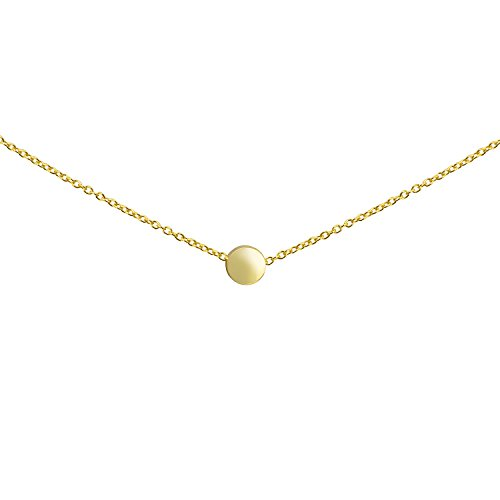 Gold Ball Necklace - 5