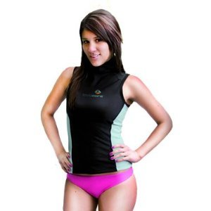 New Women's LavaCore Trilaminate Polytherm Hooded Vest for Extreme Watersports (Size X-Large) by Lavacore