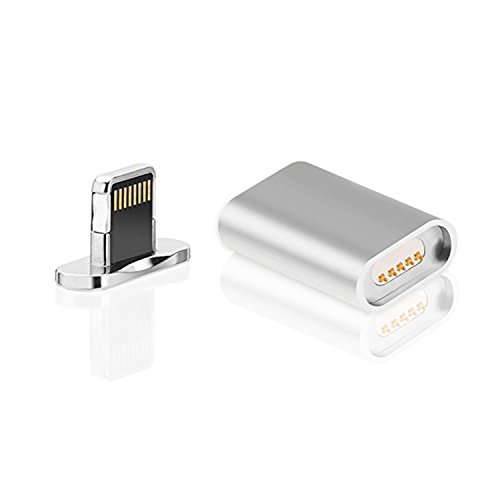 Snap Magnetic Charger for iPhone (Silver) - 5