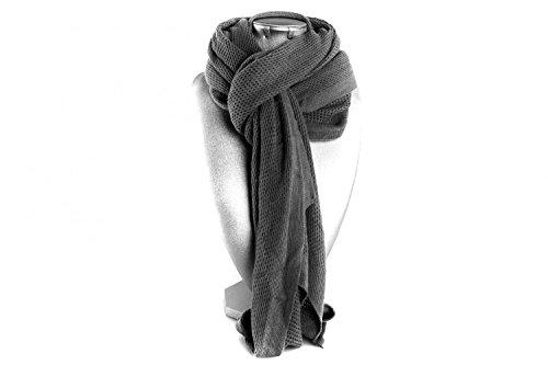 REGINA SCHRECKER étole écharpe gris femme cache epaule L1096