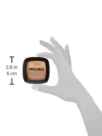 L'Oreal Paris Infallible Pro-Glow Longwear Powder Foundation, Creamy Natural, 0,31 oz L'Oreal Paris