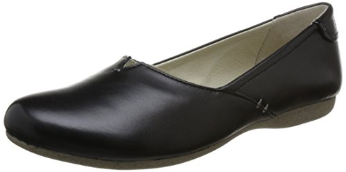Josef Seibel Dames Fiona 43 Gesloten Flat Black (zwart)