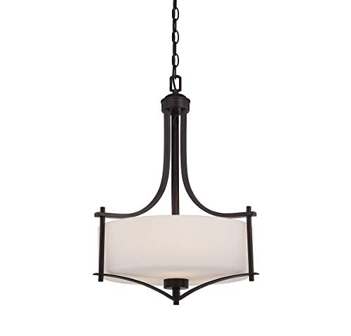 (Savoy House 3-333-3-13 Colton 3-Light Pendant in English Bronze)
