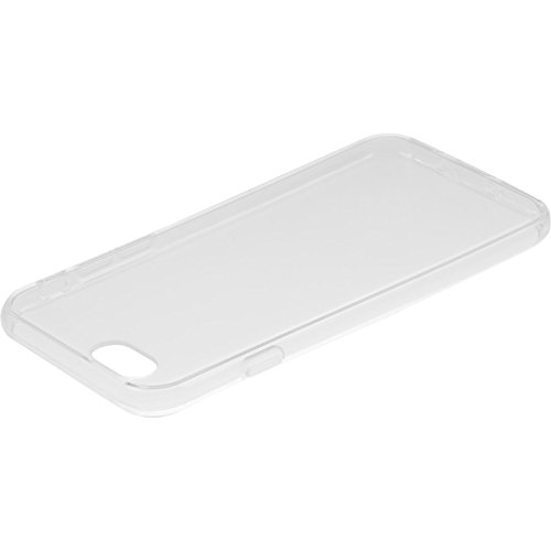 PhoneNatic Case für Apple iPhone SE Hülle Silikon Crystal Clear transparent Cover iPhone SE Tasche + 2 Schutzfolien