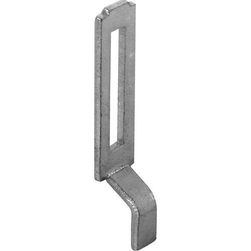 (Prime-Line Products A 148 Sliding Screen Door Latch Strike, Adjustable, Steel, 2-Pack)