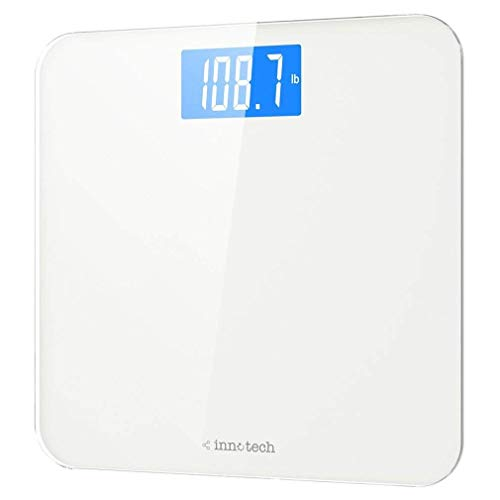 Innotech® Digital Bathroom Scale with Easy-to-Read Backlit