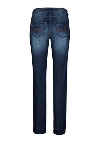 Stretch Denim Jeans Super Power X Rita Femme Bleu Super Million Denim Droite Pierre Pgqw0Axg