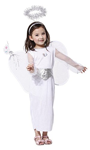 stylesilove Little Girls Snow Angel Halloween Costume Cosplay