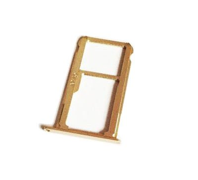 Replacement SIM Card Tray Slot Holder + Micro SD Memory For Huawei Mate 9 Mate9 MT9 - gold by Replacement SIM Card Tray Slot Holder + Micro SD Memory For Huawei Mate 9 Mate9 MT9 - Silver (Image #1)
