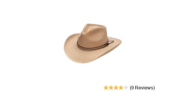 d870b6b0cef68 Amazon.com  Stetson Sawmill Straw Hat - OSSMIL-40348T  Clothing