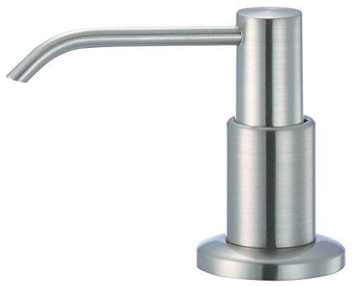 (Danze DA502105PBN Premium In-Sink Soap and Lotion Dispenser, Brushed Nickel )