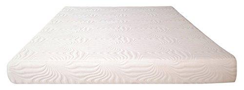 6' Mattress (SynwellSleep Firm Gel Infused Memory Foam Mattress, High Resilience Foam, 6'' H, Twin)