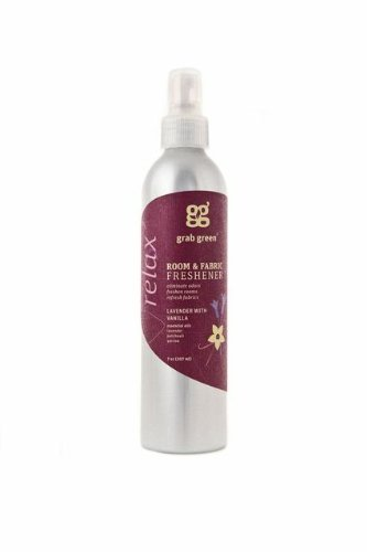 Grab Green Room and Fabric Freshener, Lavender with Vanilla, 7 Ounce