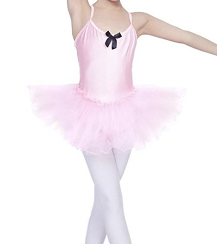 30aa2fe57 STELLE Toddler Girls Cute Tutu Dress Leotard for Dance
