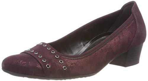 Gabor Fashion Merlot Femme Shoes Rouge Escarpins 98 Comfort UgqYrwEg
