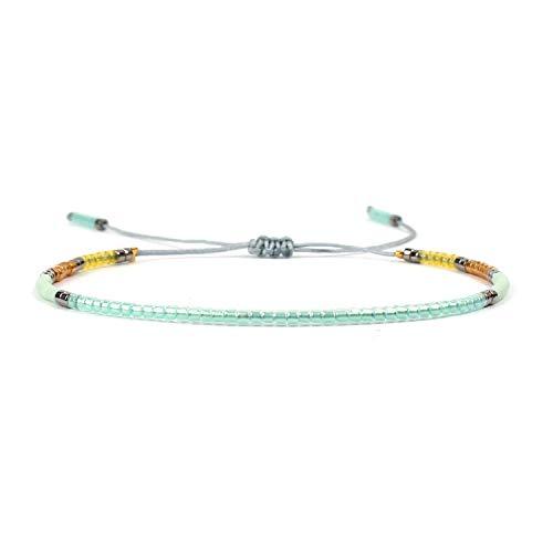 DLNCTD Bracelet Delicas Beads Bracelets Colorful Pulseira Handmade Loom Weave Bohemian Jewelry Women Gifts,MI-B180013I