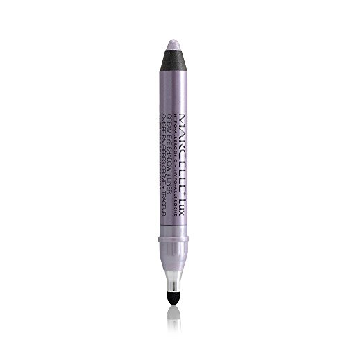 Marcelle Waterproof Lux Cream Eyeshadow + Liner, Wisteria, 1.6 Gram -