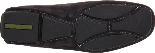 Donald J Pliner Mens Vergil Mocassino Nero / Marrone Chiaro