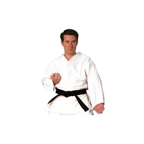 Tiger Claw Hayashi Heavy Weight Traditional Karate Top - White - Size 0 by Tiger Claw