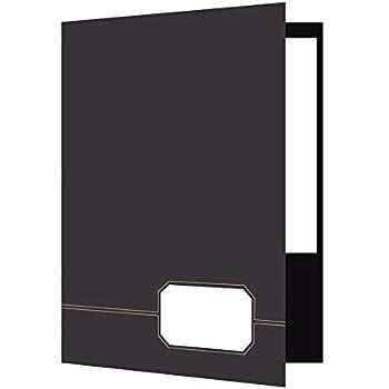 Amazon Com Oxford Tri Fold Pocket Folders Letter 8 5