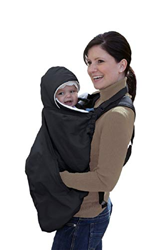 - Jolly Jumper Snuggle Cover for Soft Baby Carriers, Black