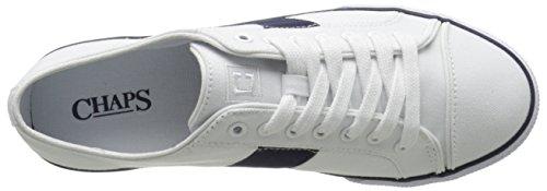 Chaps Wren Wren Fashion Sneaker Bianco / Francese Blu Scuro