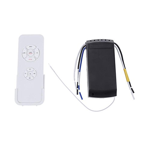 Whitelotous Universal Wireless Remote Control Speed Controller for Ceiling Fan Light