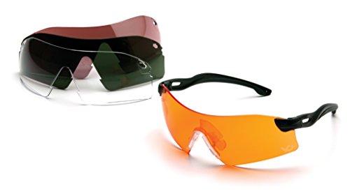 Venture Gear Drop Zone Shooting Eyewear Kit with 4 Interchangeable ()