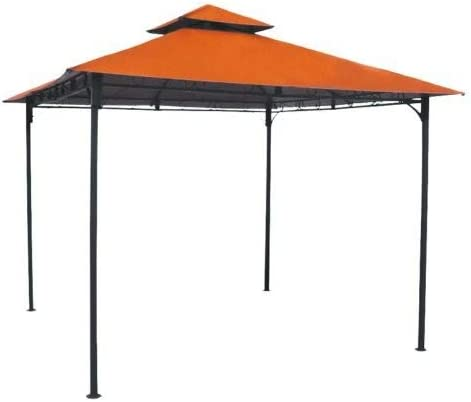International Caravan Furniture Piece Square Vented Canopy Gazebo
