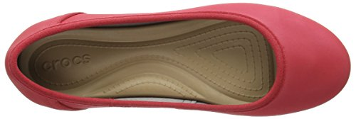 Crocs Rosso Mujer Marincolorliteflatw Zapatos Black Pepper 1gr1Azw8