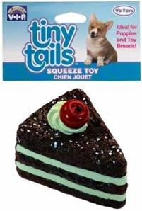 ate Cake with Cherry Dog Toy (Vo Toy Vinyl)
