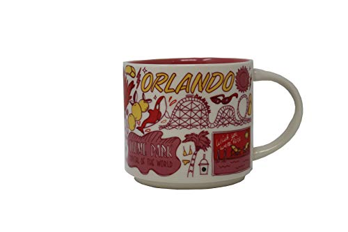 Starbucks Orlando Been There Series (BTS) 14 Ounce Mug