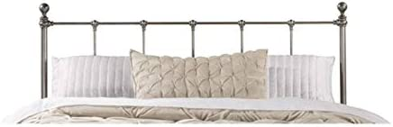 Hawthorne Collections Queen Metal Duo Spindle Headboard