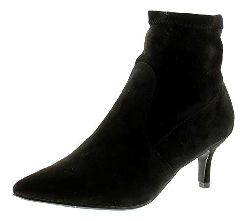Mf Femmes Carol Uk 8 3 Tailles Noir Comfort Plus Bottines RZnXnB1