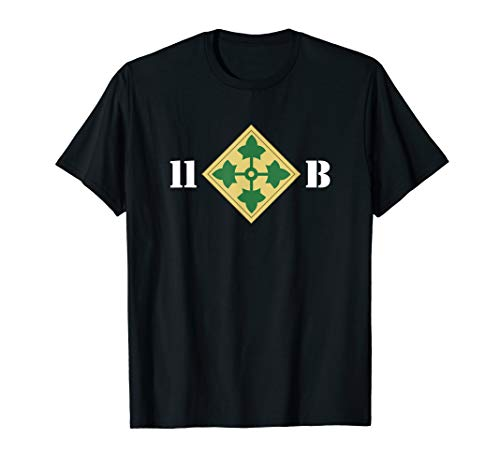 11 Bravo 4th Infantry Division T Shirt