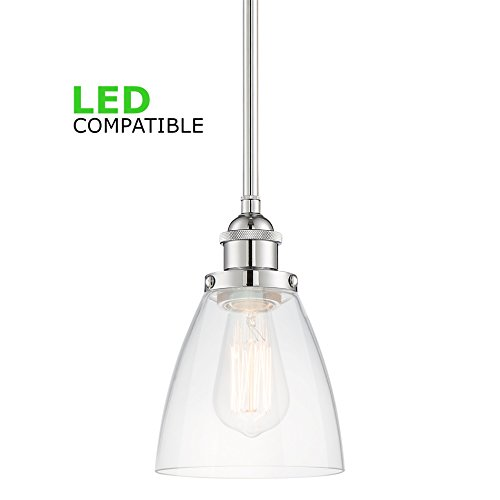 Chrome Lantern Pendant Light in Florida - 6