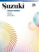 Suzuki Violin School Revised Edition Violin Part Book & CD Volume 6