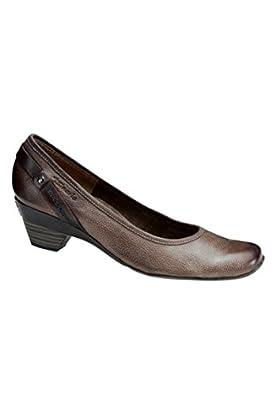 Tamaris antishock Pumps Pfeffer komb (42): : Schuhe