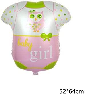 ZLJTT 1 unid Baby Boy Girl Primer cumpleaños Globos de Papel ...
