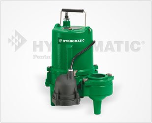 Hydromatic SPD50AH1 1/2 HP, 1 Phase, 115 Volt, High-Head Effluent Pump (Automatic), 10' Power Cord